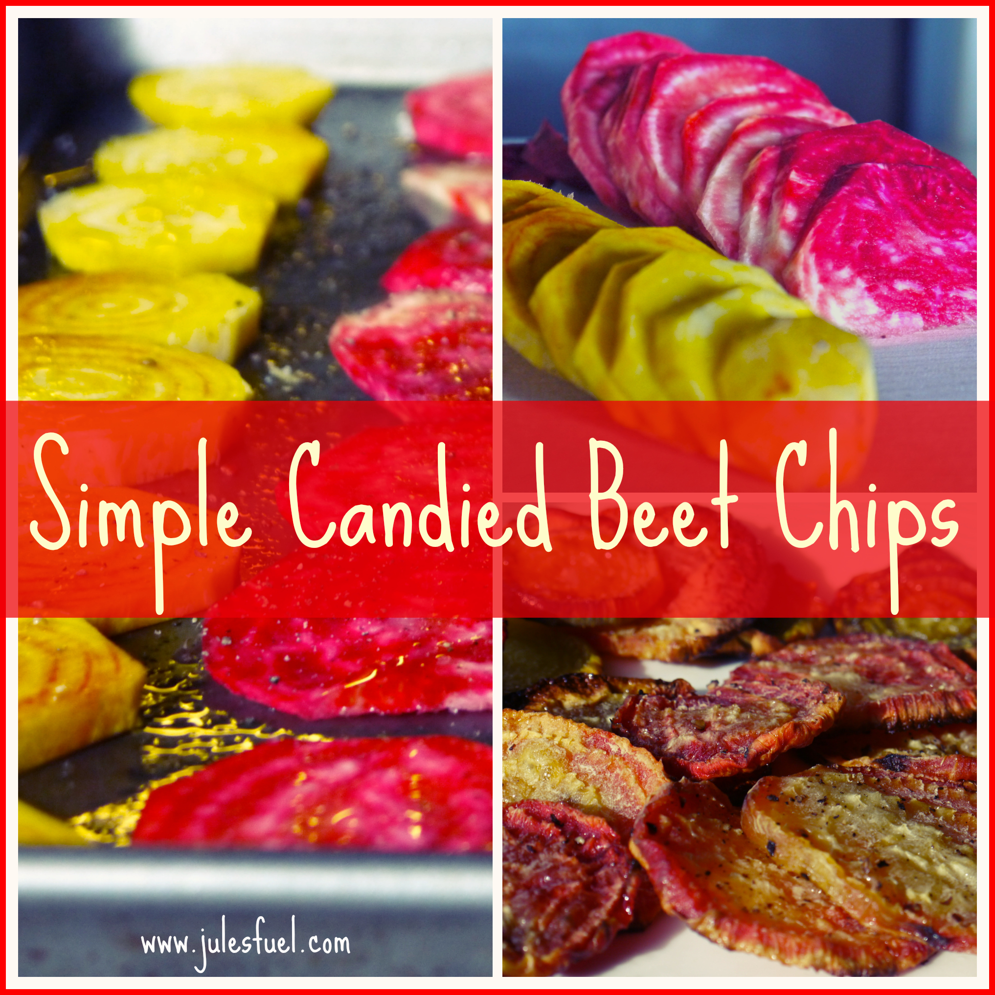 simple beet chips