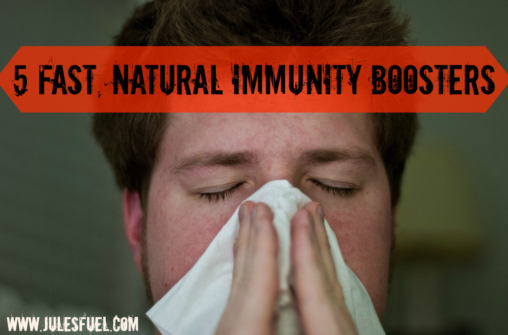 5 Fast, Natural Immunity Boosters
