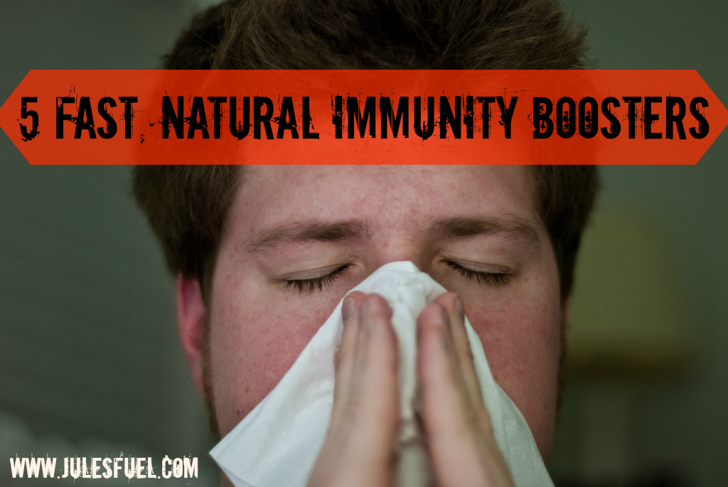 5 fast natural immunity boosters