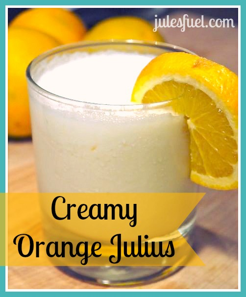 creamy orange julius