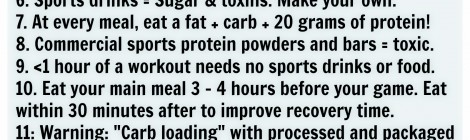 11 Sports Nutrition Truths 2