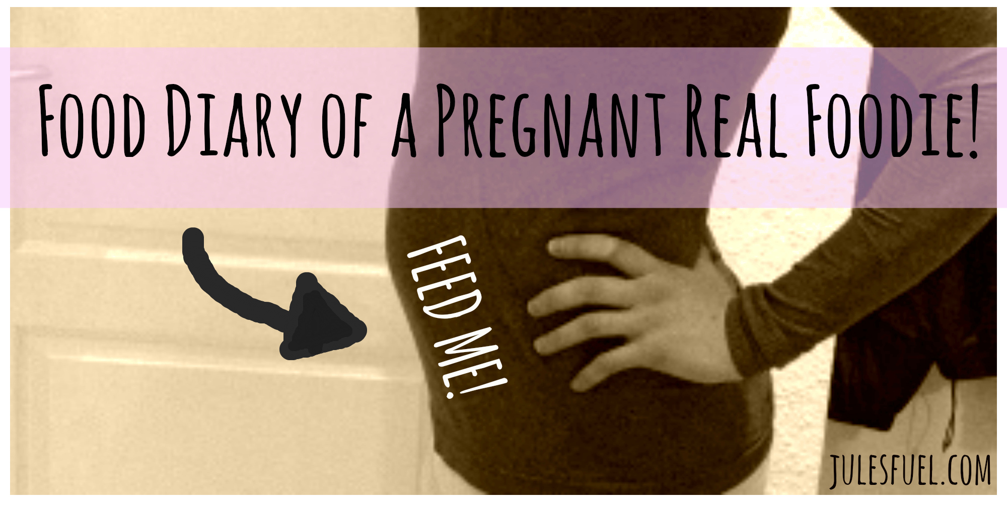 Pregnant food diary