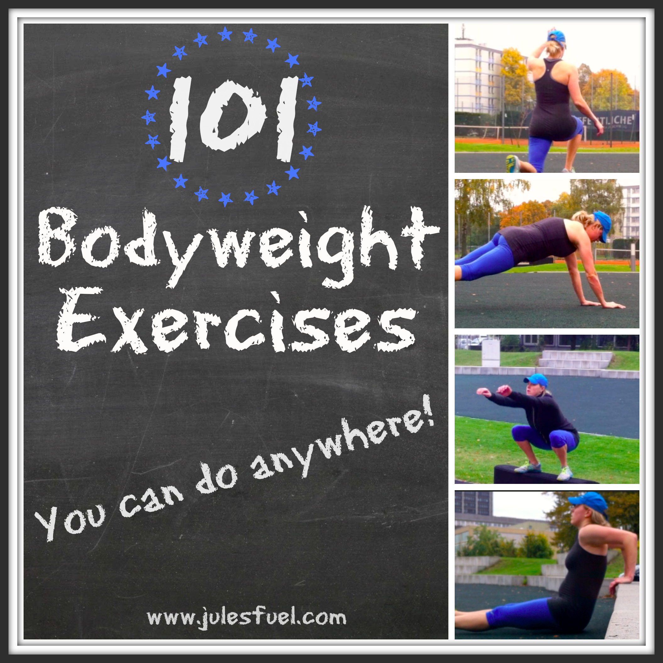 101 bodyweight exercises