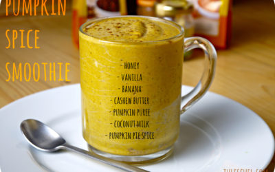 Creamy Pumpkin Spice Smoothie