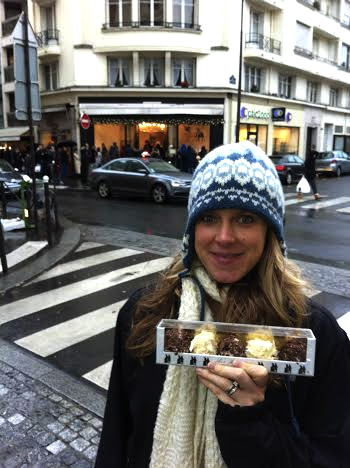 Our Christmas Eve gift from a local Parisian!