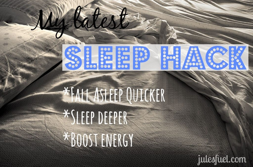 My Hack for Better Sleep!