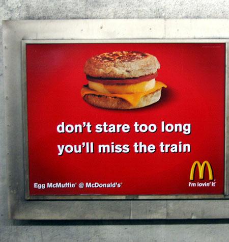 """Wake Up to Wholesome Starts:"" McDonald's FAIL"