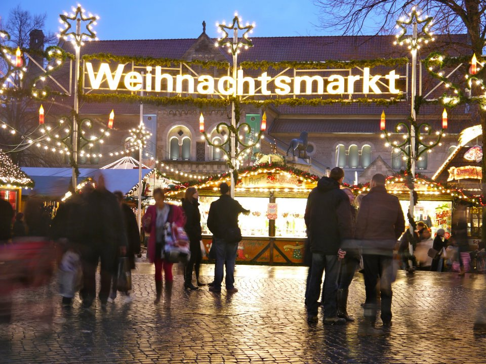 The gorgeous Christmas Market near our home last year - Braunschweig, Germany
