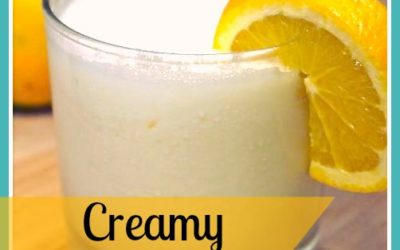 Creamy Orange Julius (Dairy & Gluten Free)