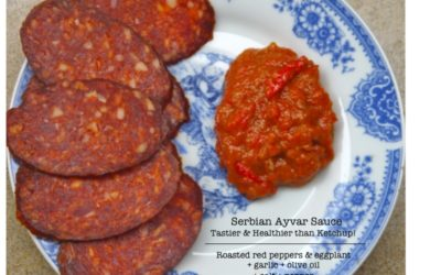 Better (& Healthier) than Ketchup: Serbian Roasted Ayvar