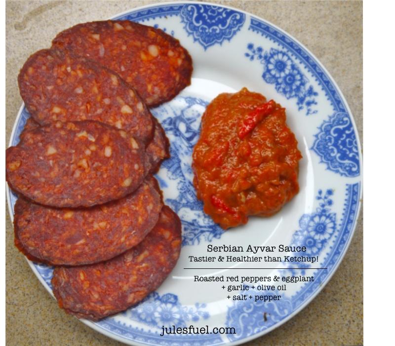 Serbian Ayvar Sauce