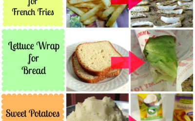 6 Real Food Substitutions for High Carb Foods