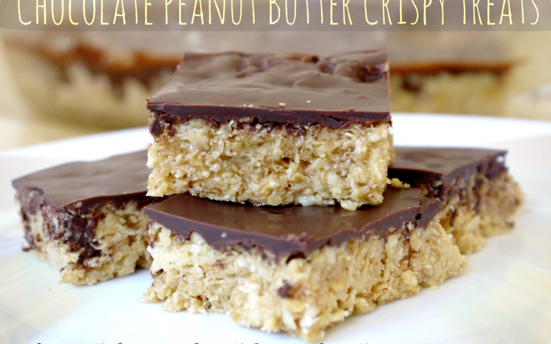 Chocolate Peanut Butter Crispy Treats (Dairy & Gluten Free)