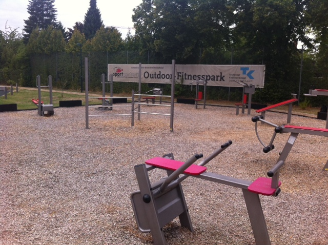 Outdoor-Fitnesspark in Braunschweig, Germany!
