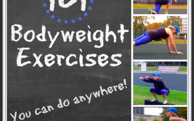 101 Bodyweight Exercises You Can Do Anywhere
