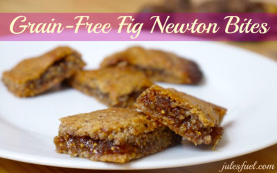 Grain-Free Fig Newton Bites