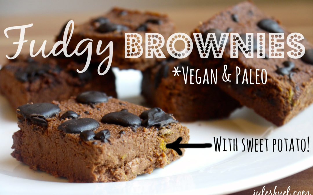 Fudgy Vegan & Paleo Brownies
