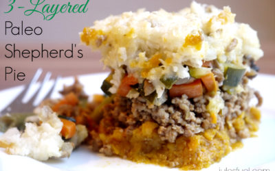 3-Layered Paleo Shepherd's Pie