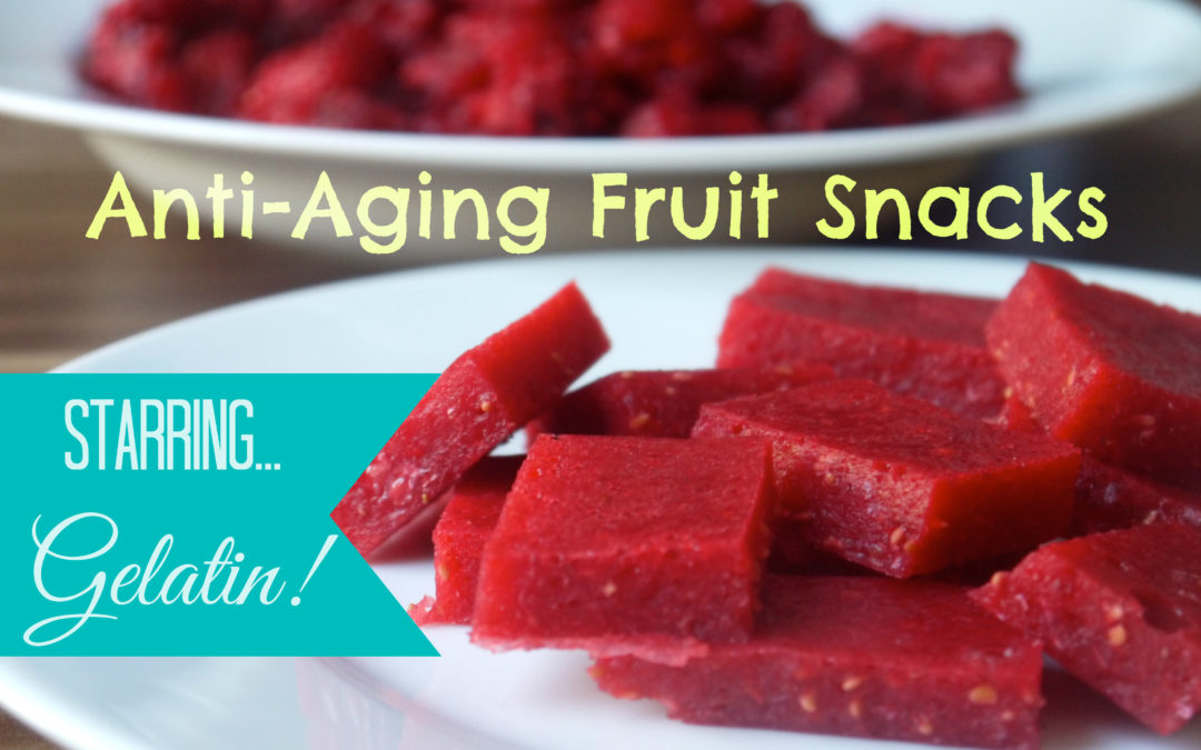 Anti-Aging Fruit Snacks