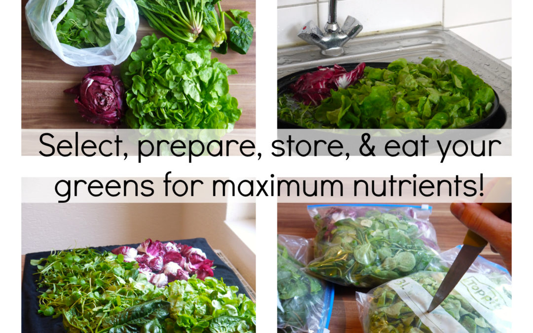 Secrets to Getting Max Nutrients from Your Greens